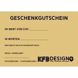 KFB Design Geschenkgutschein