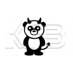 Sticker Panda Devil