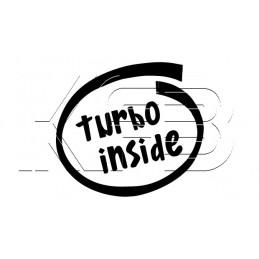 Sticker turbo inside