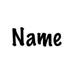 Schriftzug Name