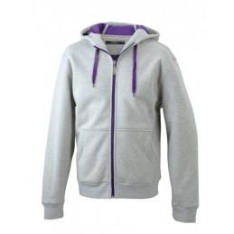 Grey Heather/Purple