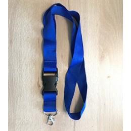 Schlüsselband Blau mit...