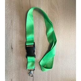 Schlüsselband Grasgrün mit...