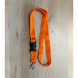 Schlüsselband Orange mit...