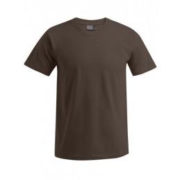 Wunschbedruckung T-Shirt Brown