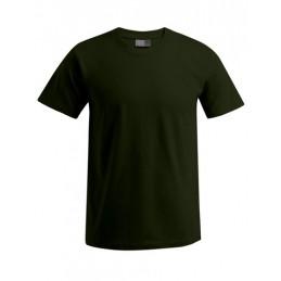 Wunschbedruckung T-Shirt Khaki