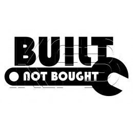 Sticker Built -Not bought