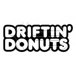 Sticker Driftin' Donuts
