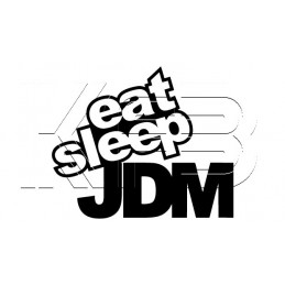 Sticker EAT - SLEEP - JDM